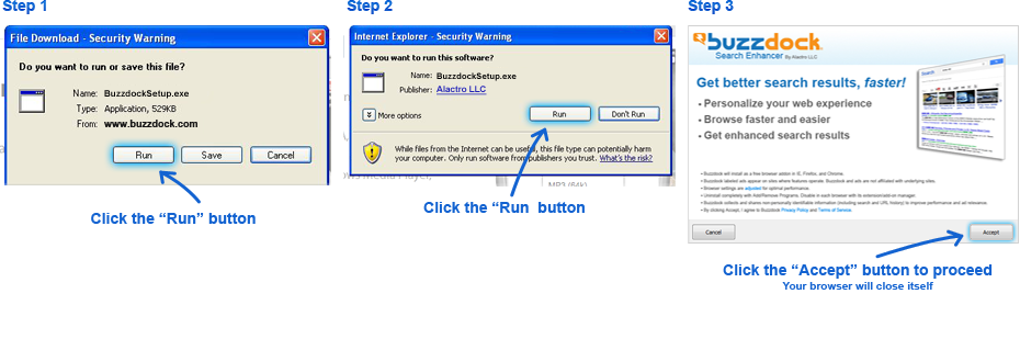 Internet Explorer for Windows Instructions